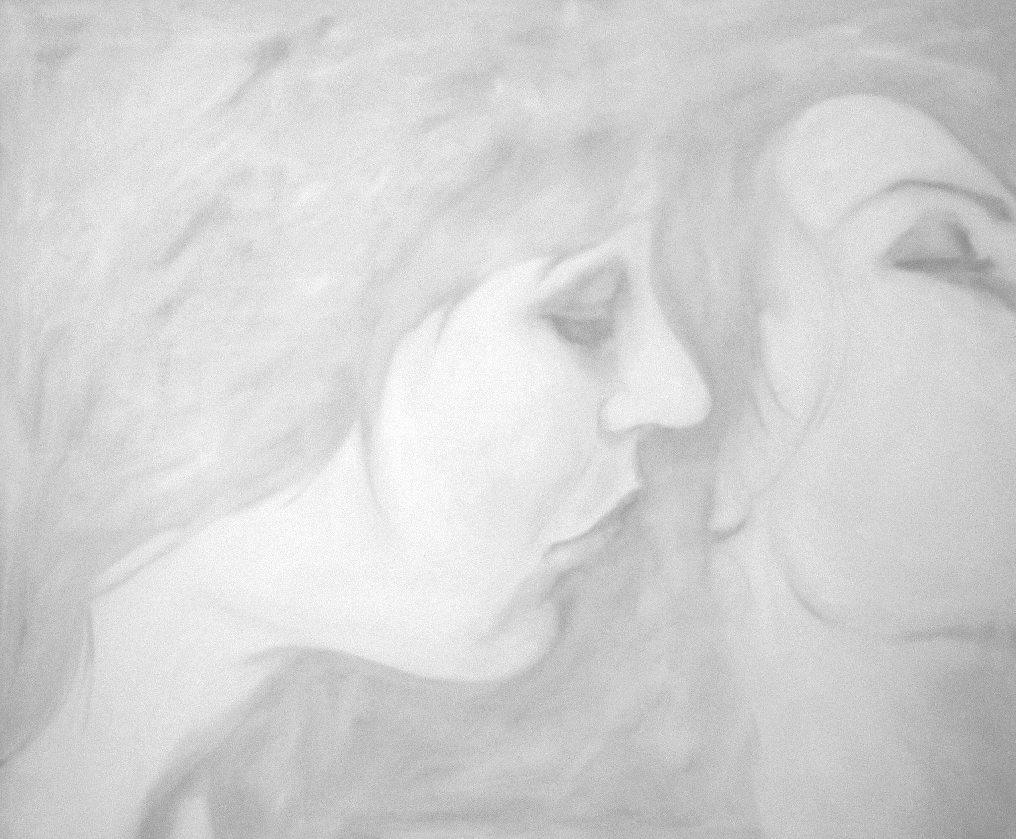 Peinture deux femmes